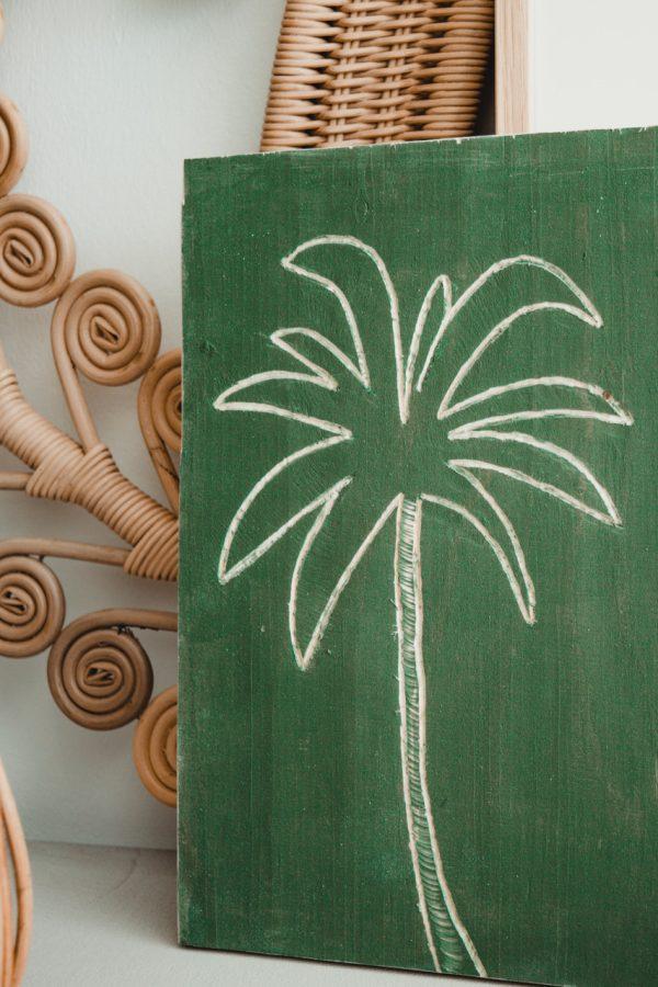 DIY houten schilderijtjes