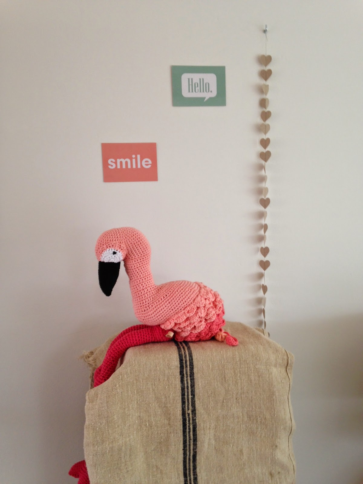 Lets Do The Flamingo Happy Handmade Living
