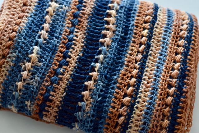 Lace sjaal haken met verloopgaren!