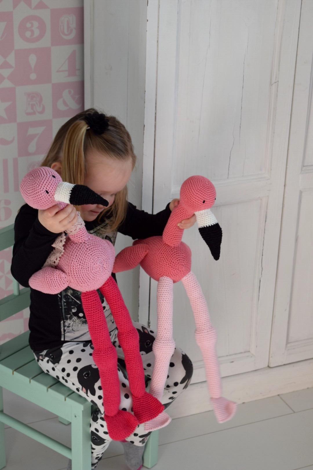 Haakpatroon Fay De Flamingo Happy Handmade Living