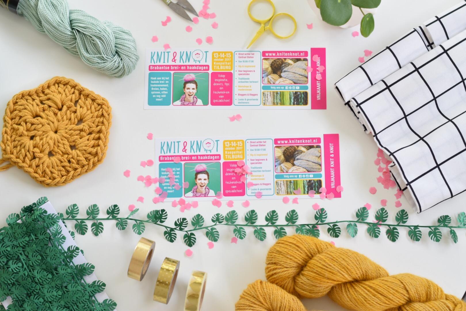 Winnaar tickets Knit & Knot