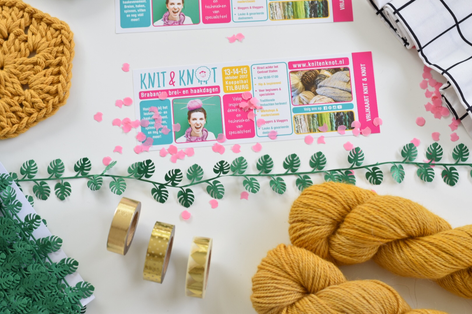 KNIT & KNOT beurs in Tilburg (give-away)