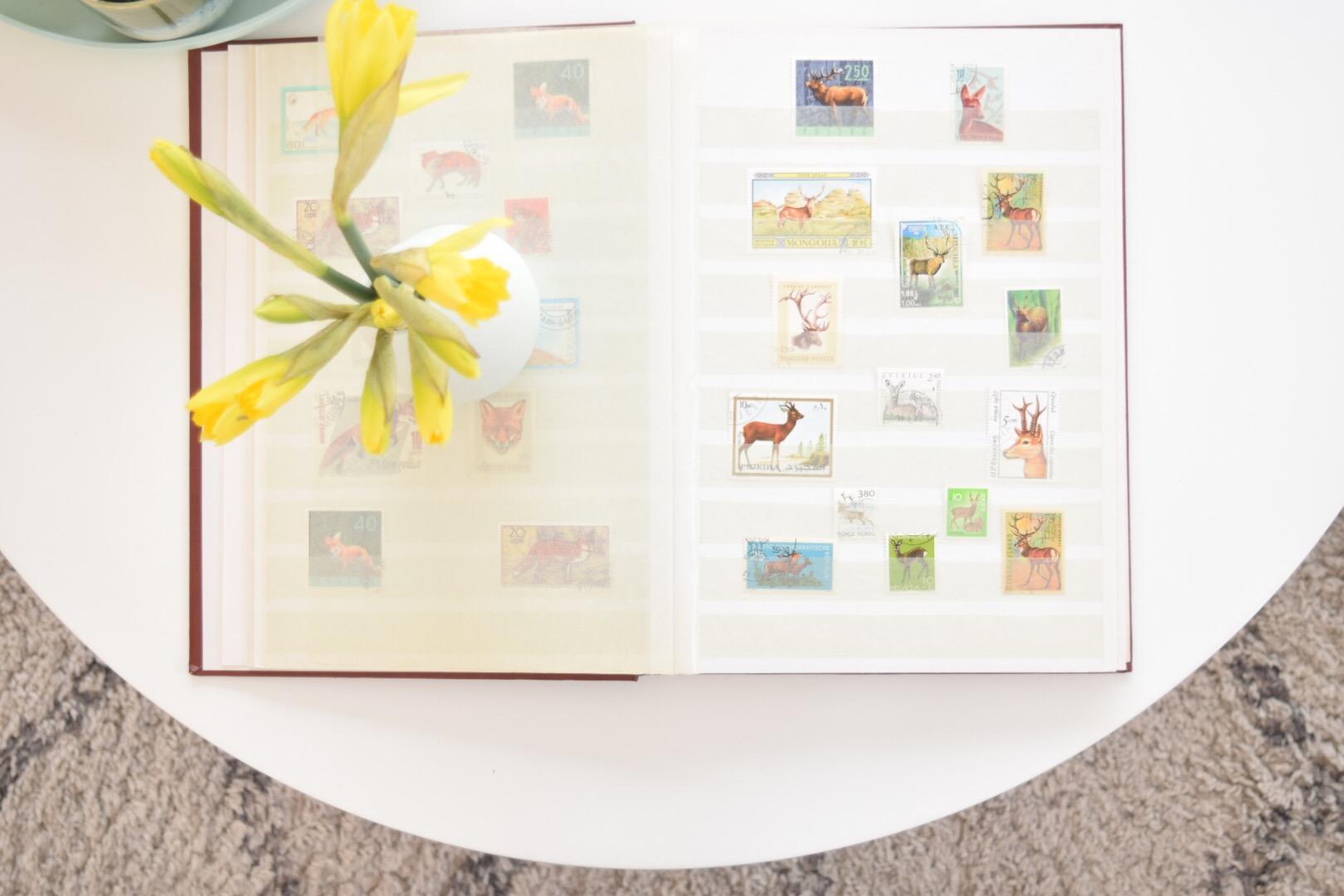 Postzegelverzameling…