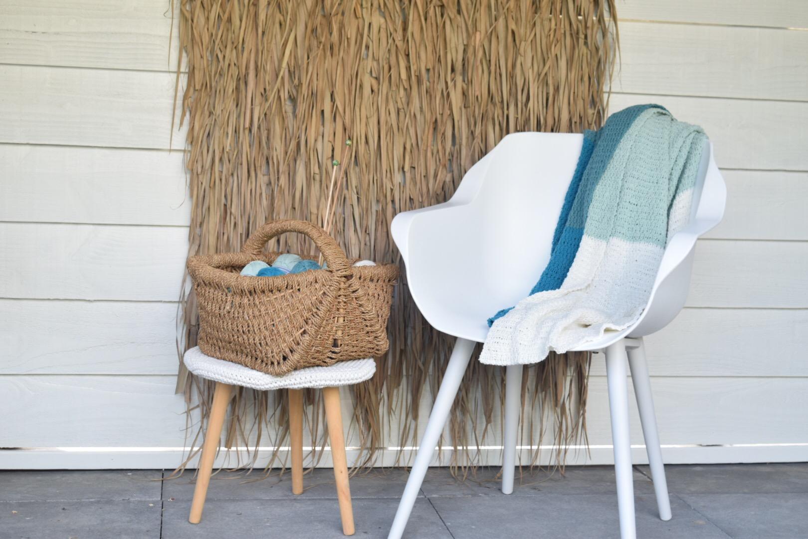 Cosy Fine Summer Blanket breien