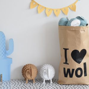 I love wol paperbag (craft)