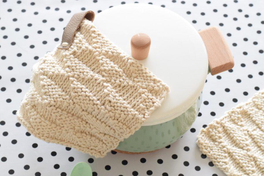 Stoere Pannenlappen Breien Happy Handmade Living