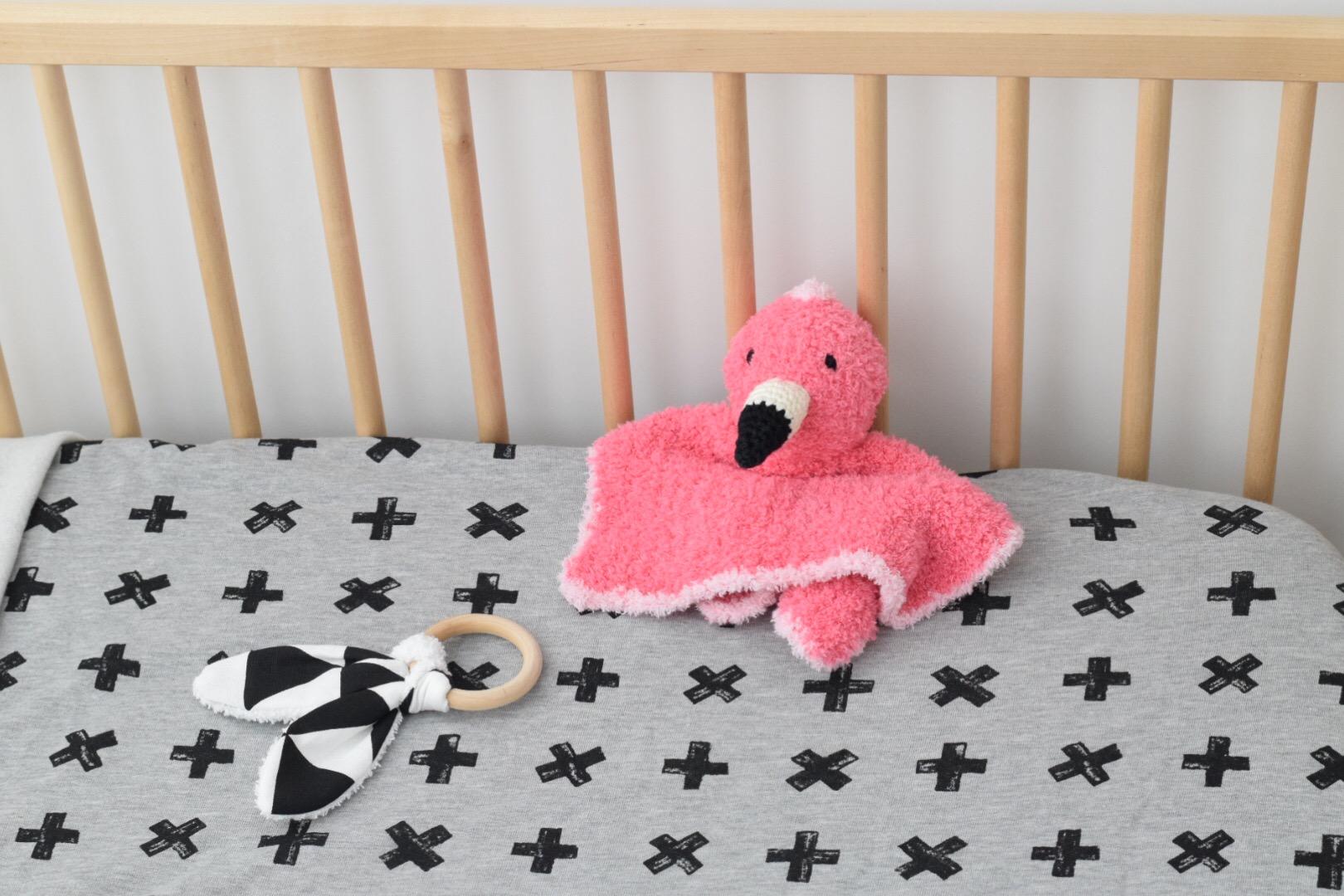 Haakpatroon Pinky Het Flamingo Knuffeldoekje Happy Handmade Living