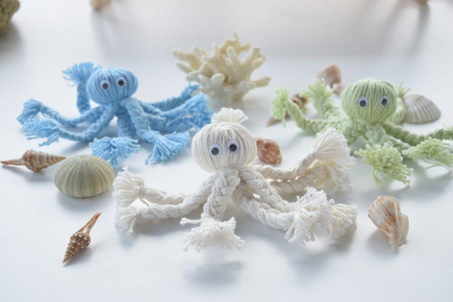 DIY zomerse inktvisjes maken