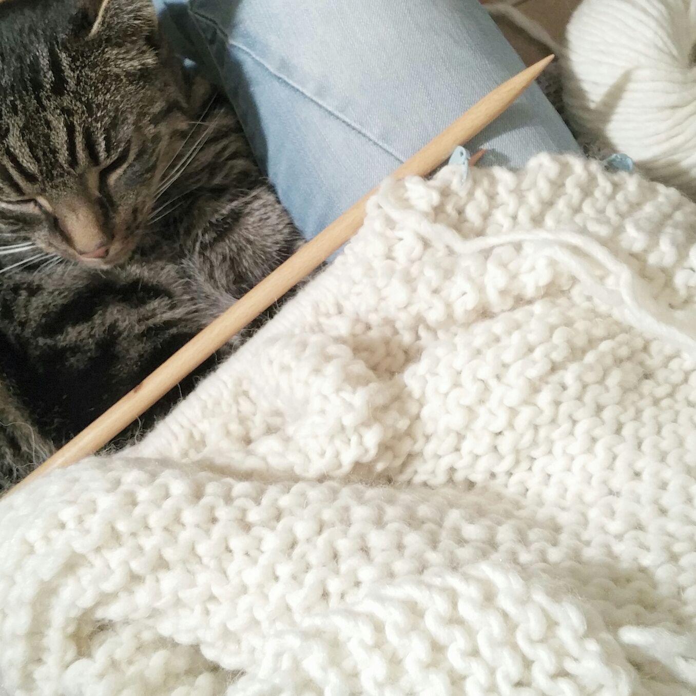 Col sjaal breien (gastblog van Lidy Nooij)