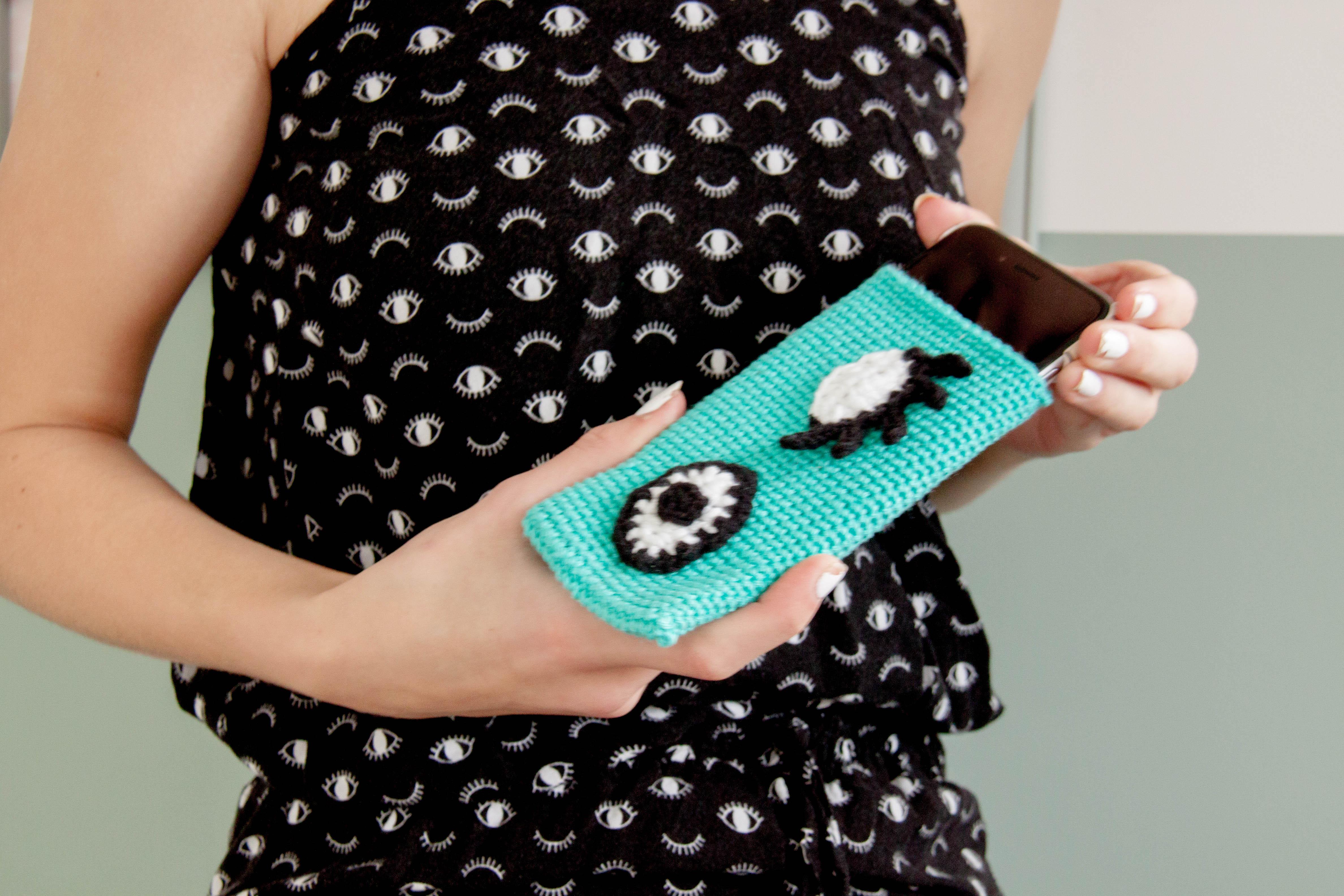 Hippe smartphonehoes haken..!