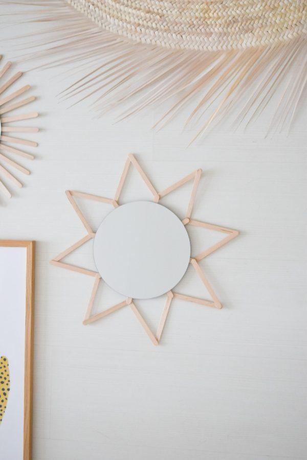 DIY hippe spiegels maken