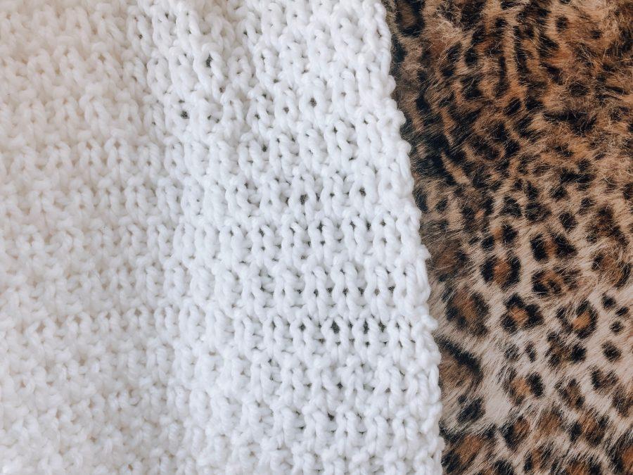 Stoere deken breien