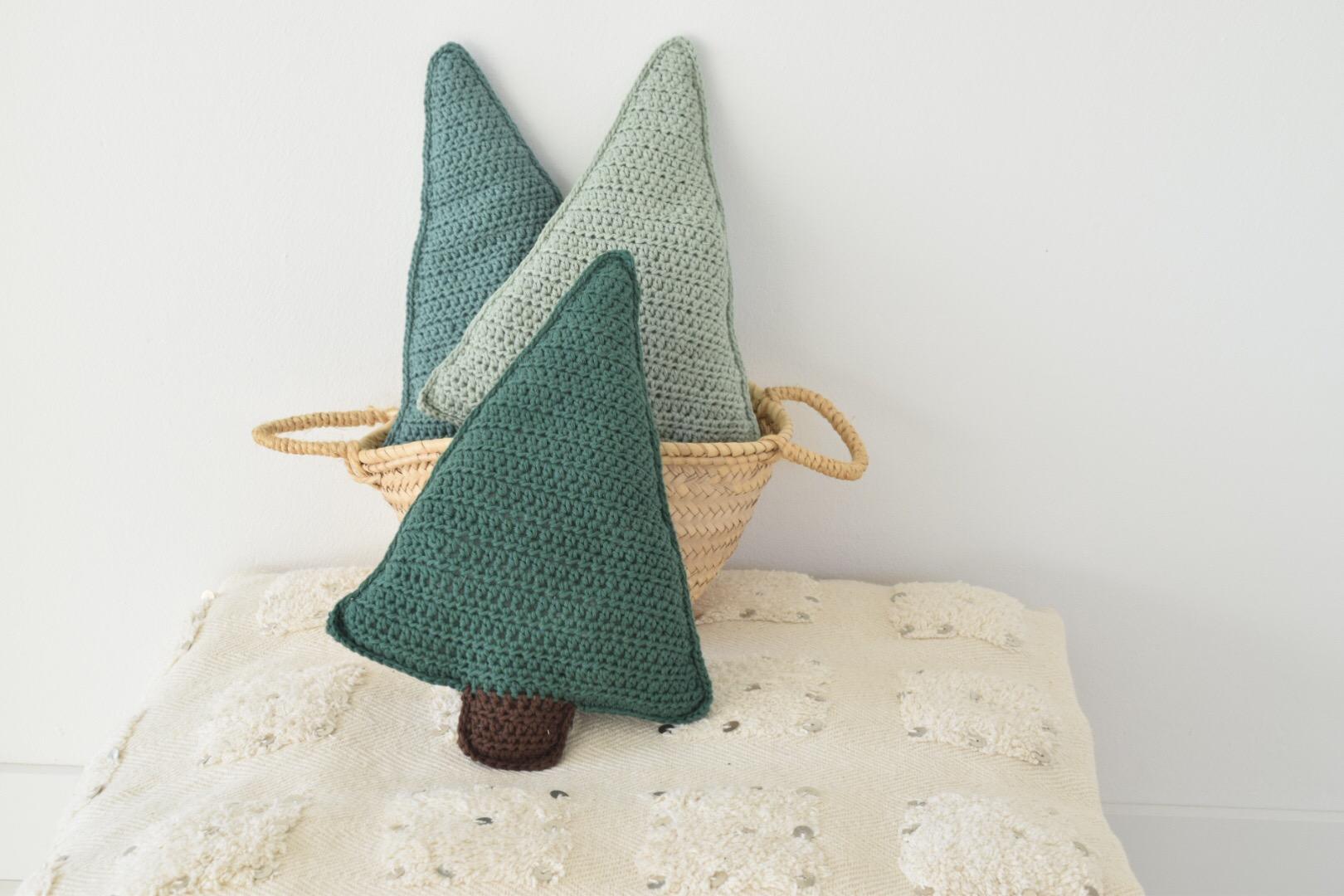 Kerstboom kussen haken..!