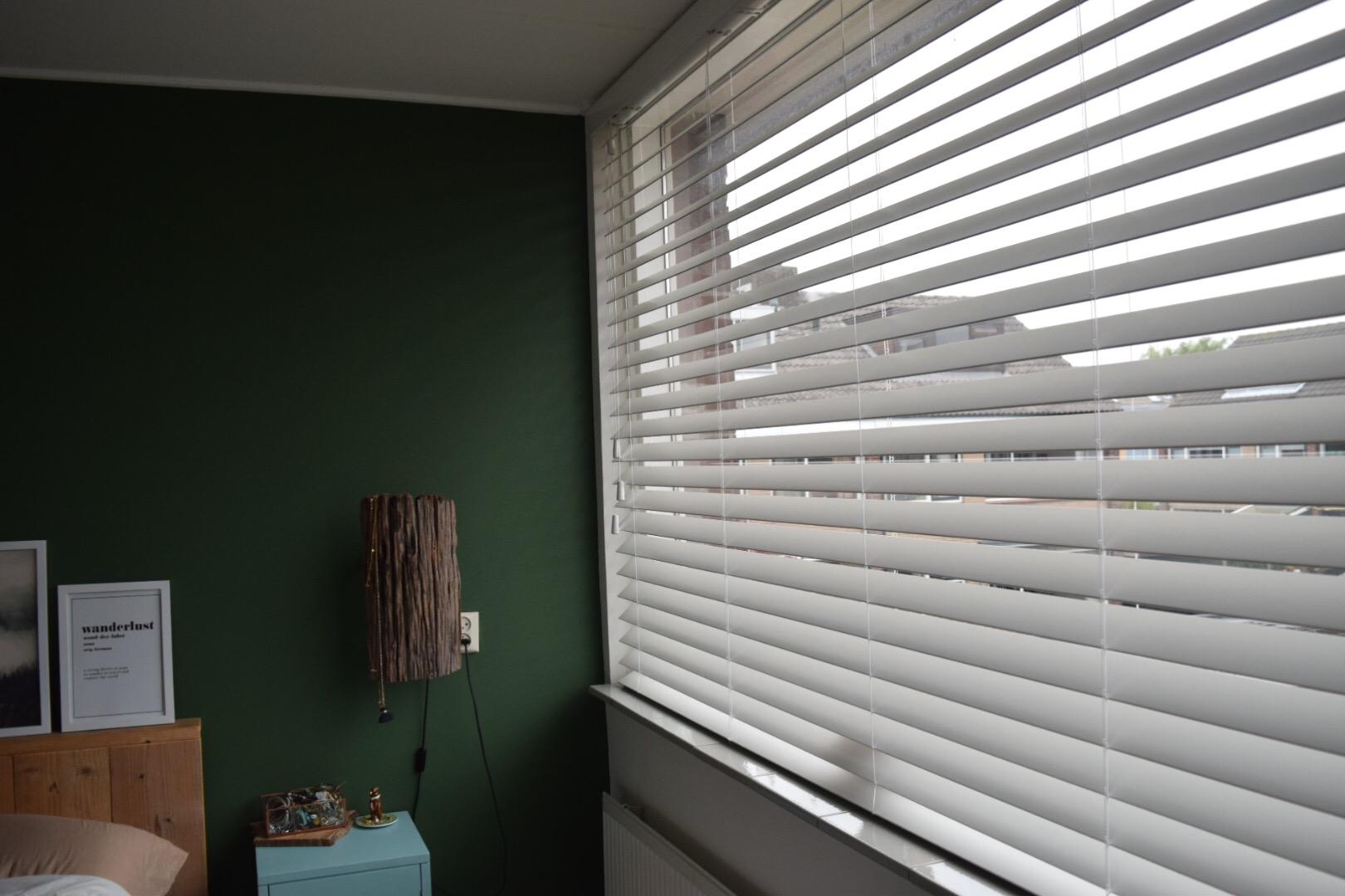 Nieuwe raambekleding in de slaapkamer