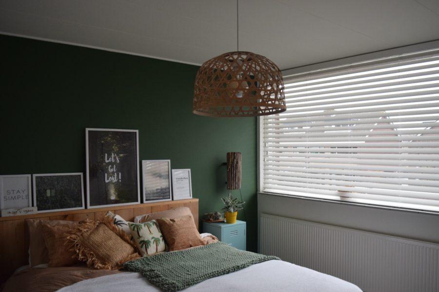 Rolgordijnen Slaapkamer 99 : Nieuwe raambekleding in de slaapkamer happy handmade living