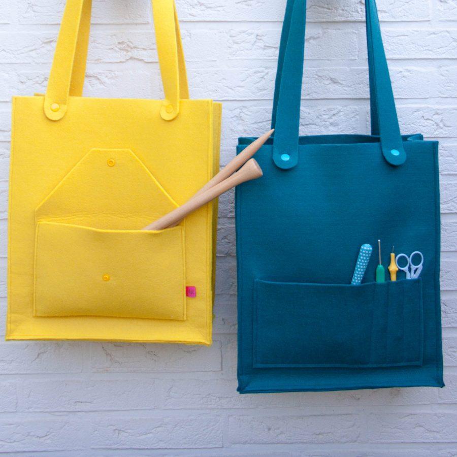 Zeer Vilten crafttas maken..! - Happy Handmade living @TD18