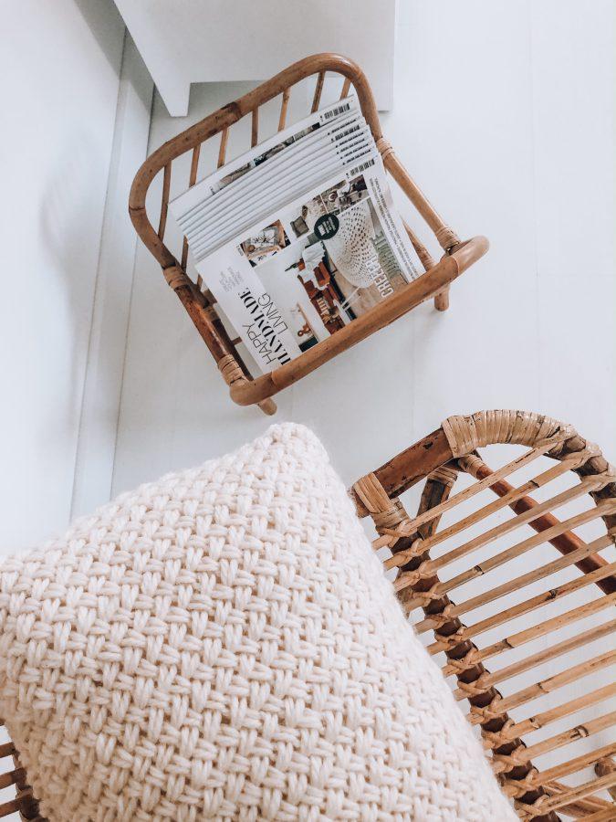 Basketstitch pillow