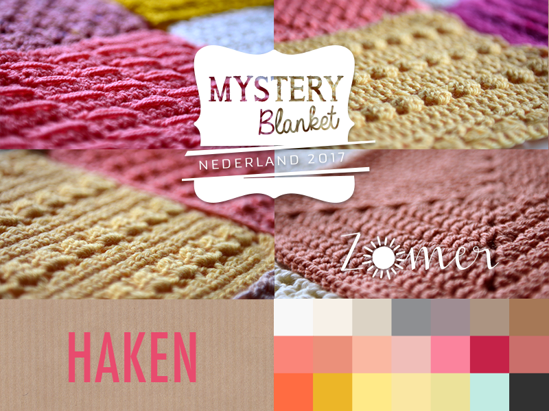 Mystery Blanket 2017 Happy Handmade Living