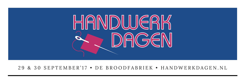 WORKSHOPS Handwerkdagen 2017!