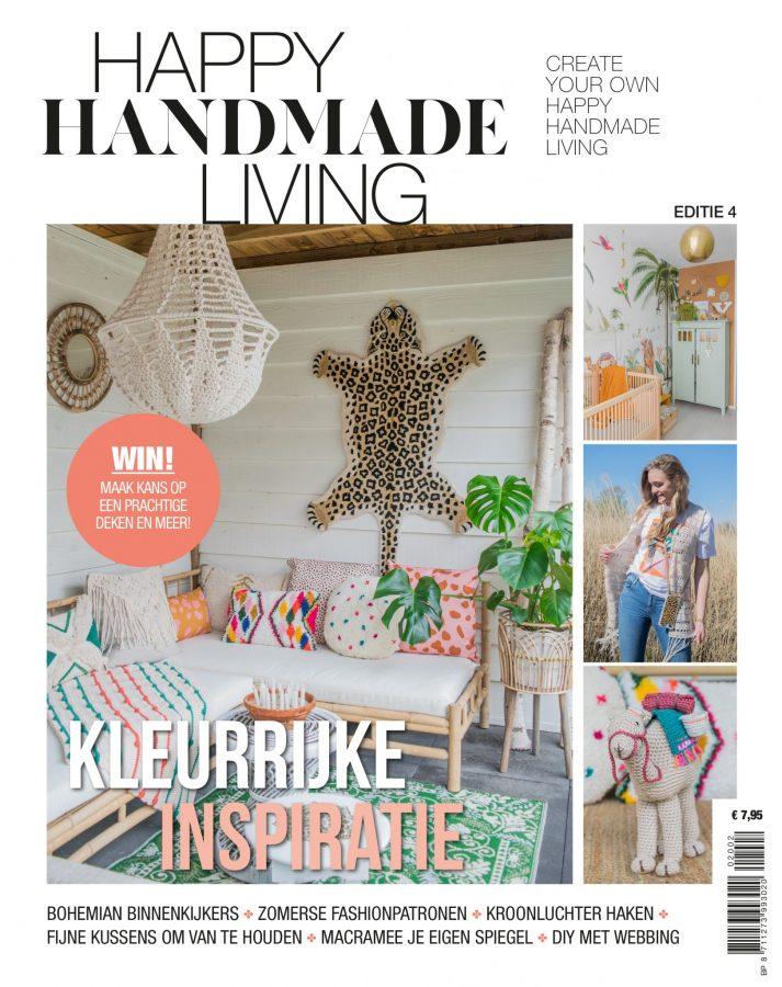 4 nummers voor € 29,50 + Boek Happy Handmade Fashion