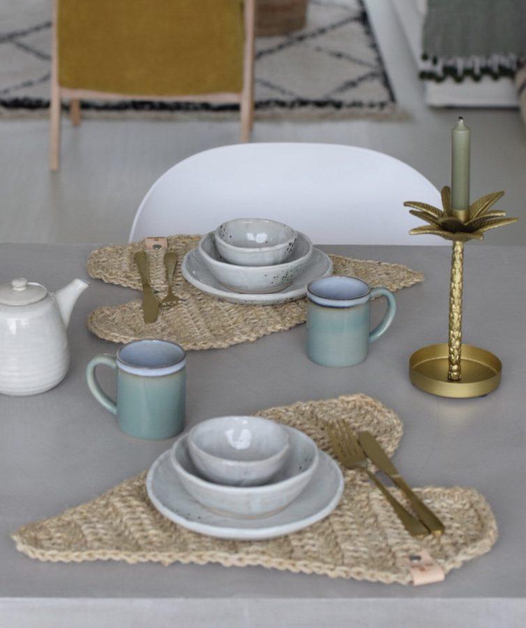 Decoratieve Harten Placemat Haken Happy Handmade Living
