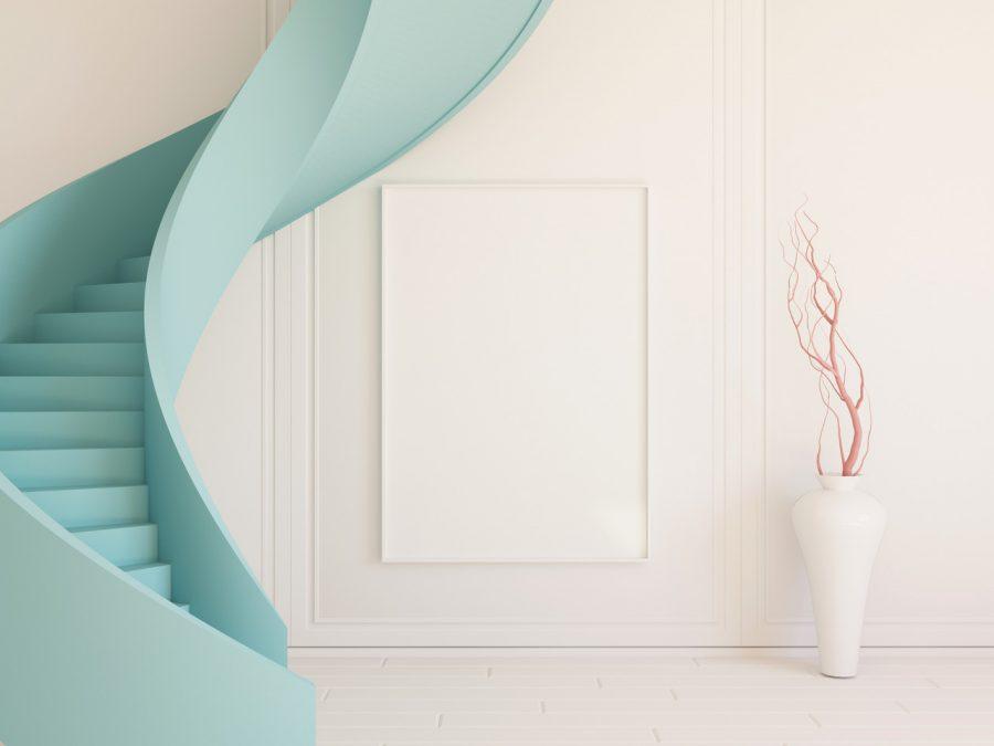 Tips bij het verven van de trap