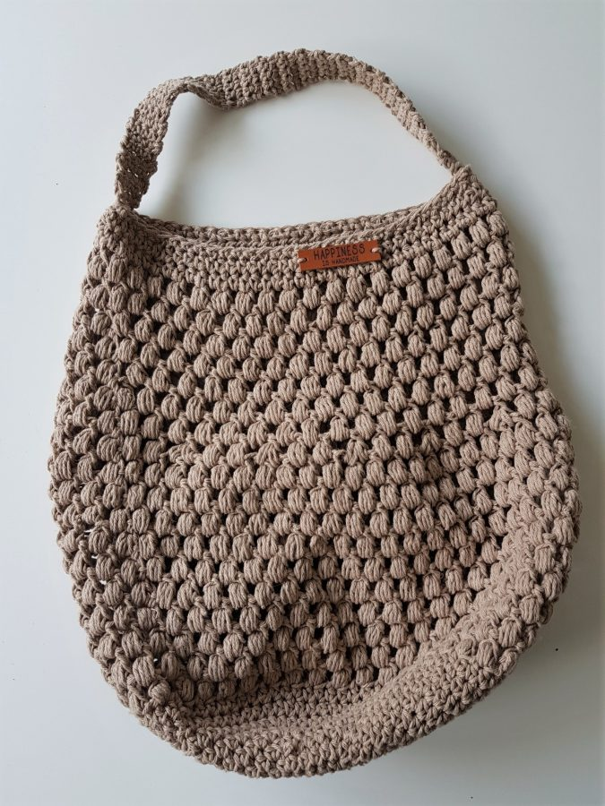 Stoere Shopper Haken Happy Handmade Living